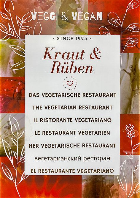 vegetarisches Restaurant Kraut und Rüben